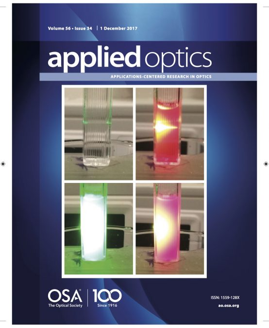 Koç University Microphotonics Research Laboratory Publication Highlighted in Journal Cover