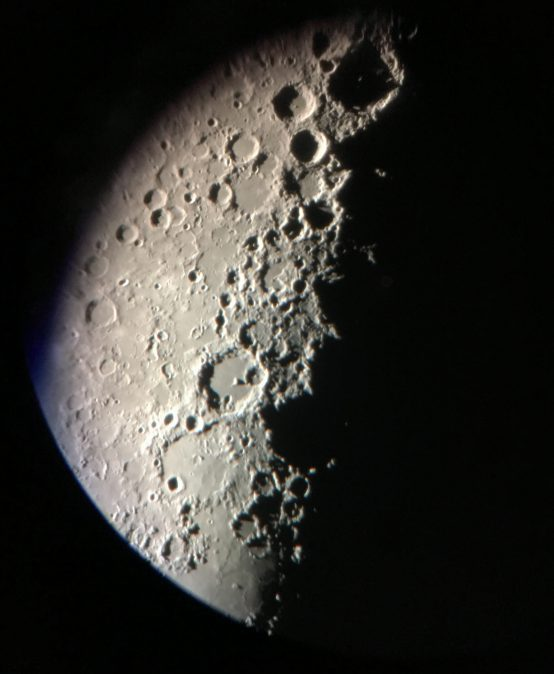 Lunar Observation, October 2017