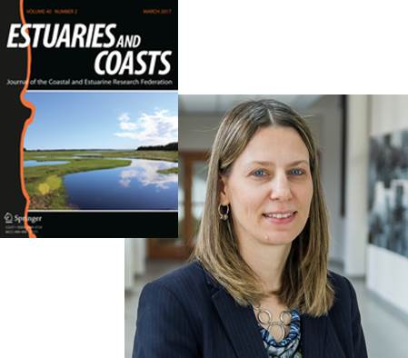 "Patricia Ramey-Balcı recognized as an Associate Editor of Distinction for the journal ""Estuaries and Coasts"""